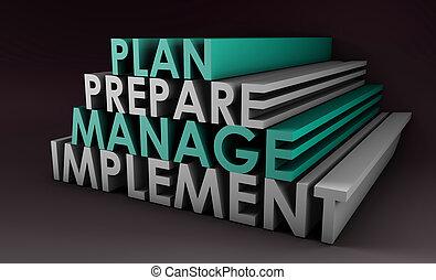 amministrazione, pianificazione
