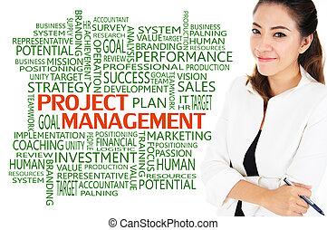 amministrazione, progetto, concetto