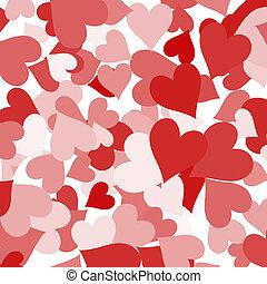 amore, esposizione, valentines, romanza, carta, fondo, cuori