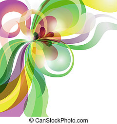 amore, festivo, astratto, tema, fondo, colorito