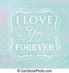 amore, lei, sempre