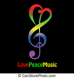 amore, pace, musica