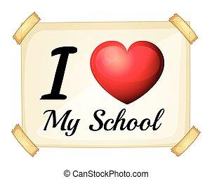 amore, scuola, mio