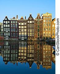 amsterdam, architettura, tipico