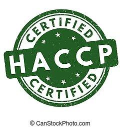 analisi, o, critico, points), segno, francobollo, controllo, (hazard, haccp