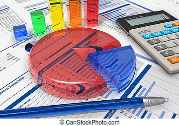 analytics, concetto, affari