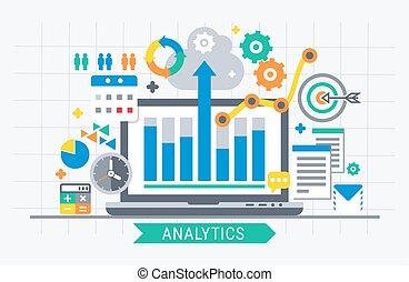 analytics, ricerca, informazioni