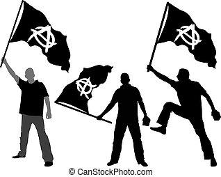 anarchia, bandiera