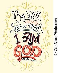 ancora, essere, citazione, sapere, dio, bibbia