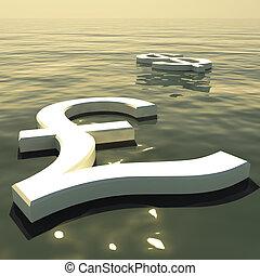 andare, forex, scambio, soldi, lontano, dollaro, libbra, galleggiante, esposizione