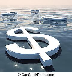 andare, forex, scambio, soldi, lontano, dollaro, valute, galleggiante, esposizione