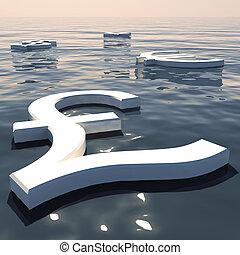 andare, forex, scambio, soldi, lontano, valute, libbra, galleggiante, esposizione