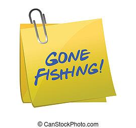 andato, concetto, pesca, posto-esso