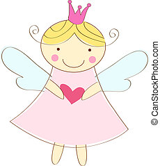 angelo, poco, cartolina auguri