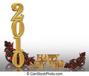 anni nuovi, 2010, fondo, vigilia