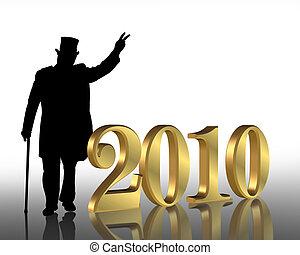 anni nuovi, 2010, vigilia