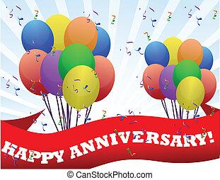 anniversario, felice