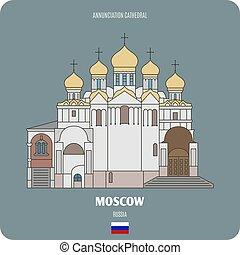 annunciazione, mosca, cattedrale, russia