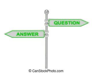 """answer"", verde, ""question"", segni"