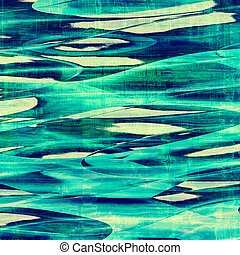 anticaglia, differente, grunge, colorare, green;, gray;, blue;, patterns:, cyan, vecchio, texture.