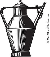 anticaglia, pot caffè