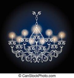 anticaglia, vendemmia, candeliere, gotico
