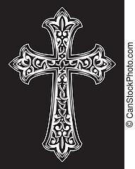 anticaglia, vettore, cristiano, croce