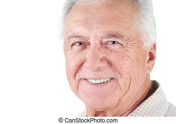 anziano, uomo