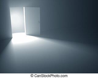 aperto, libertà, porta