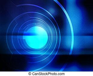 apertura, blu