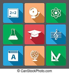 app, iconset, educativo