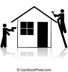 appaltatori, lavorativo, casa