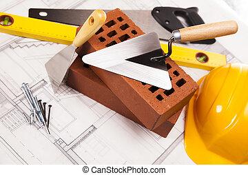 apparecchiatura costruzione, costruzione