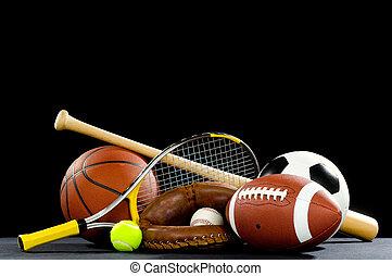 apparecchiatura, sport