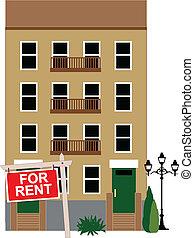 appartamento, affitto