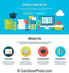 appartamento, disegno web, sagoma, educazione linea