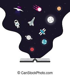 appartamento, icona, astronomia