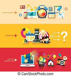 appartamento, marketing, strategia, disegno, digitale, amministrazione