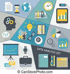 appartamento, set, dati, analisi