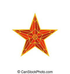 appartamento, stile, quadrato, spasskaya, cremlino, mosca, star., russia., mosca, russo, punto di riferimento, torre, nazionale, rosso