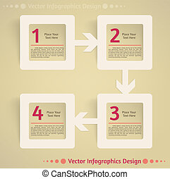 appartamento, vettore, disegno, fondo, infographics