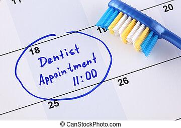 appuntamento, dentista