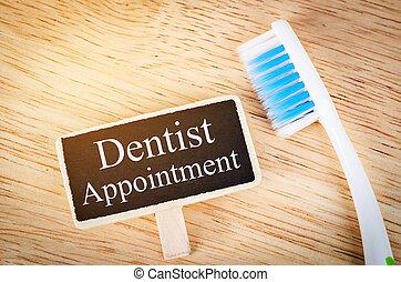 appuntamento dentista, tag.