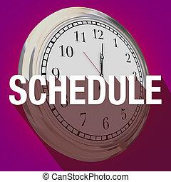 appuntamento, orario, orologio, lungo, tempo, uggia, riunione