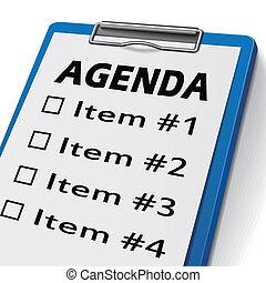 appunti, ordine del giorno