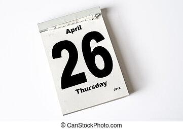 aprile, 26., 2012