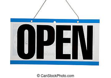 aprire segno, affari
