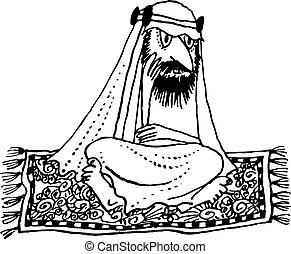 arabo, volare