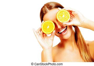 arance, divertente