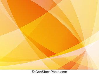 arancia, astratto, carta da parati, fondo, giallo
